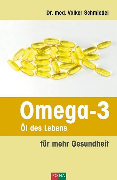 "Buch: Omega-3 ""Öl des Lebens"""