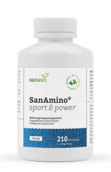 SanAmino® sport & power (Presslinge)