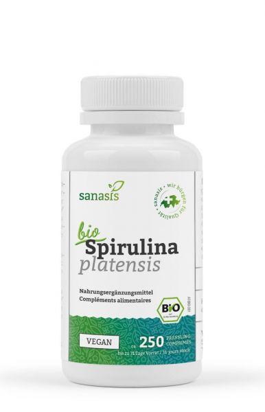 Spirulina Bio (Tabletten, 100g)