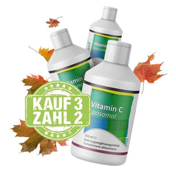 Liposomales Vitamin C 3 für 2 Aktion