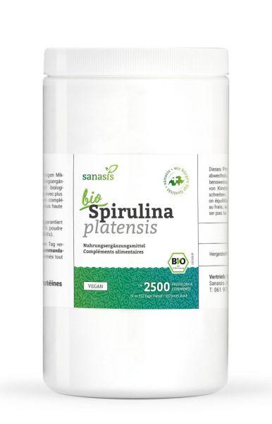 Spirulina Bio (Tabletten, 1000g)