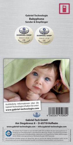 Gabriel-Chip Babyphone (Sender & Empfänger)