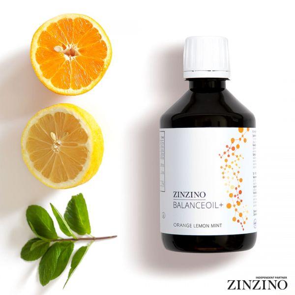 Zinzino BalanceOil+ Fischöl 300ml Orange