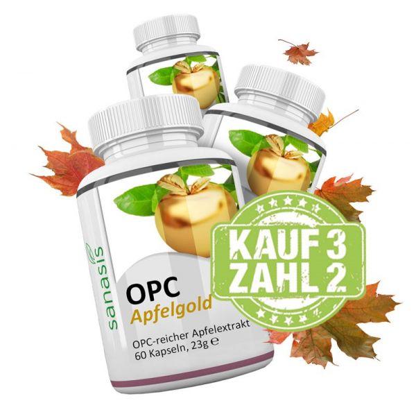 OPC Apfelgold 3 für 2 Aktion