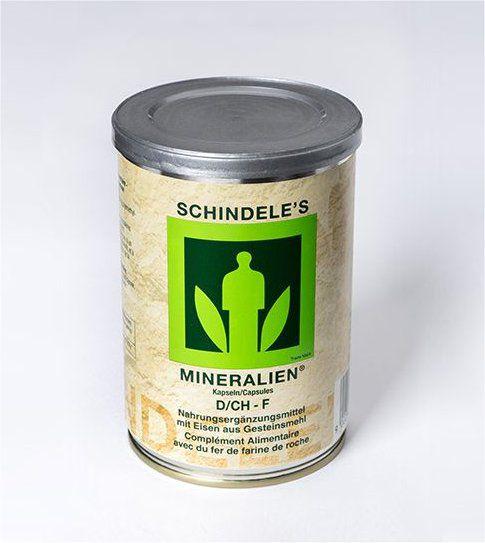 Schindeles Mineralien (250 Kapseln)